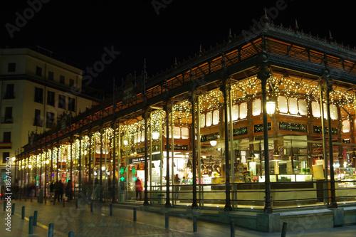 Fototapeta premium Targ San Miguel, Madryt, Hiszpania