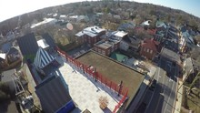 Aerial Over Shenandoah Valley ...