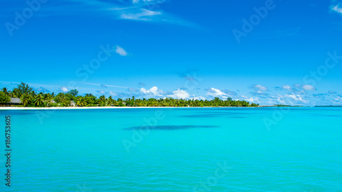 Poster Tropical plage Beautiful panoramic landscape