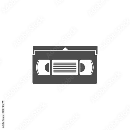 video cassette icon Canvas-taulu