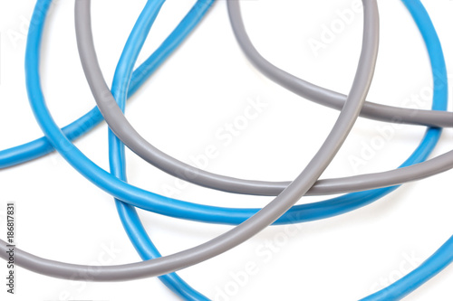 Wire Internet | Gray And Blue Abstract Wire Cables For Internet Kaufen Sie Dieses
