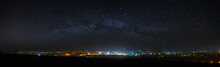 Panoramic View Of The Starry N...