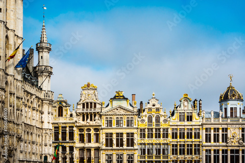 Foto  Grand Place at Brussels, Belgium