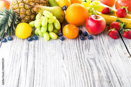 Naklejki owoce  owocowa-perspektywa