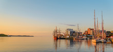 Panoramic View Of Halifax In The Early Morning