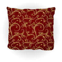 Throw Pillow Isolated For Home...