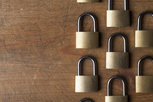 Padlock Background. Security A...