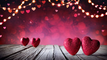 Valentines Card - Two Hearts O...