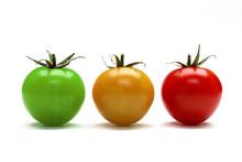 Tomates. Etapes De Murissement