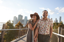Couple Visiting New York With ...