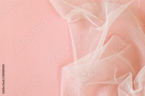 Fotografie, Obraz background with transparent organza cloth texture