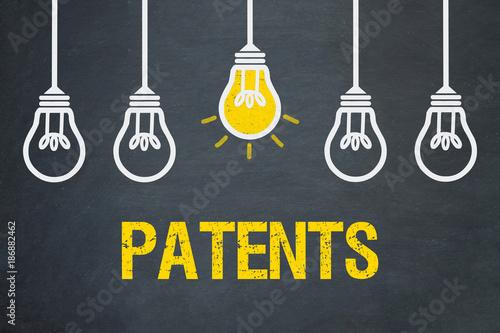 Obraz Patents - fototapety do salonu