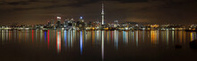 Panoramic View Of Auckland Cit...