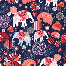 Beautiful Seamless Pattern Ena...