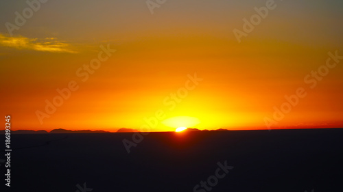 Canvas Prints Cuban Red Colorful Sunset Sunrise