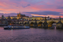 Prague Castle And The Charles ...