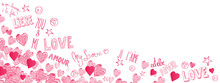Love Doodles Background