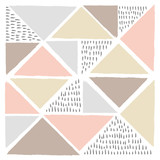 Vector Abstract Scandinavian style background. Modern and stylish abstract design poster, cover, card design.illustration for your design.  - 186907200