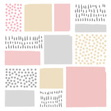 Vector Abstract Scandinavian style background. Modern and stylish abstract design poster, cover, card design.illustration for your design.  - 186907229