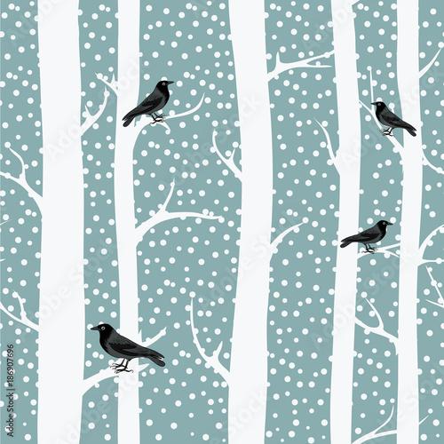 Obrazy styl skandynawski   pnie-drzew-w-stylu-skandynawskim