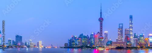 Foto op Aluminium Shanghai Shanghai Bund night view