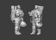 Astronaut Low Poly