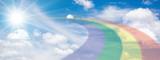 Fototapeta Tęcza - 太陽に架かる虹