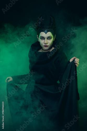 Tablou Canvas Maleficent demonic - starring