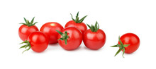 Cherry Tomatoes With Green Ste...
