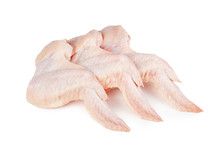 Raw Chicken Wings Isolated On ...