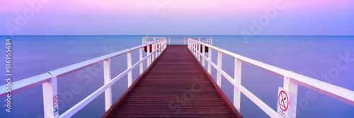 Hervey Bay Jetty at sunset
