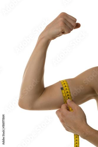 Durchschnitt umfang oberarm 33cm Bizeps