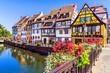 Leinwanddruck Bild - Colmar, France.