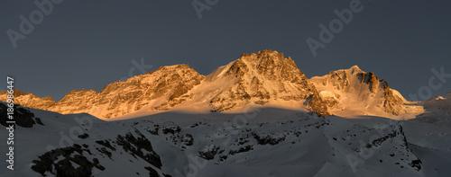 Italy, Gran Paradiso, mountainscape