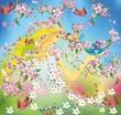 Pani wiosna i ptaki