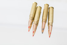Leaded And Unleaded Rifle Ammunition, Rifle Cartridges
