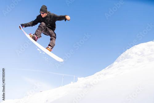 Vászonkép Snowboarder