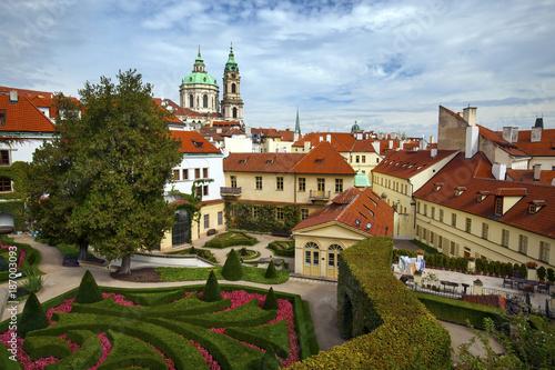 Ingelijste posters Oost Europa Vrtba Gardens in Prague, Czech Republic