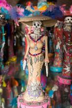 Traditional Santa Muerte Skeleton