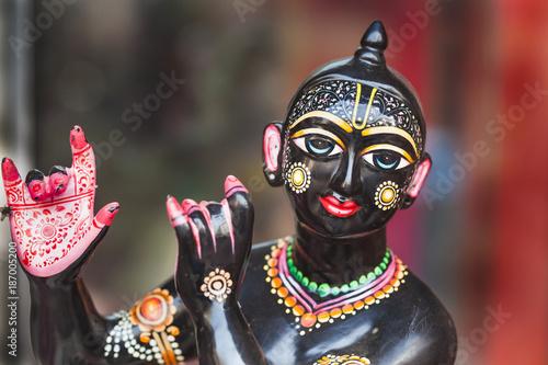 Photo Krishna figurine