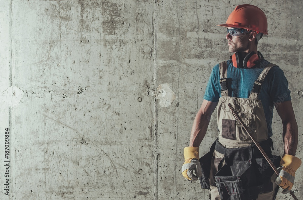 Fototapeta Contractor Job Concept