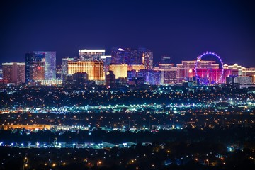 Fototapeta Nevada USA City of Las Vegas