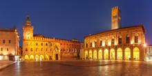 Panorama Of Piazza Maggiore Sq...