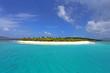 Luftaufnahme Sandy Island, British Virgin Islands
