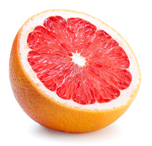 Half Of Grapefruit