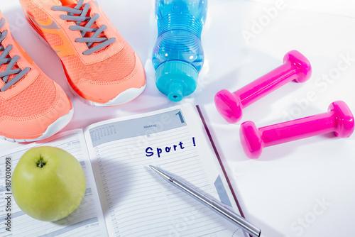 best sneakers 15822 d30b5 Gesund durch Sport, Sportsachen – kaufen Sie dieses Foto und ...