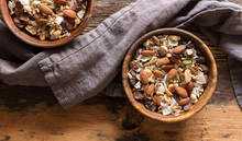 Trail Mix In Bowls