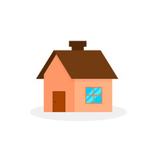 House Vector Flat Icon. Home I...
