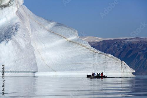 Foto op Aluminium Arctica 'Iceberg graveyard' in Franz Joseph Fjord - Greenland