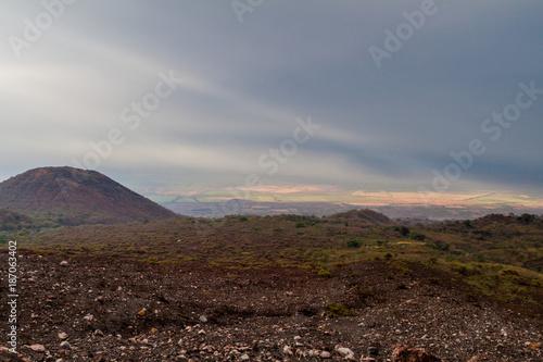 Keuken foto achterwand Chocoladebruin Landscape surrounding Telica volcano, Nicaragua